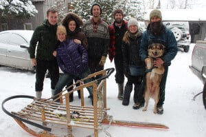 group photo Algonquin Winter