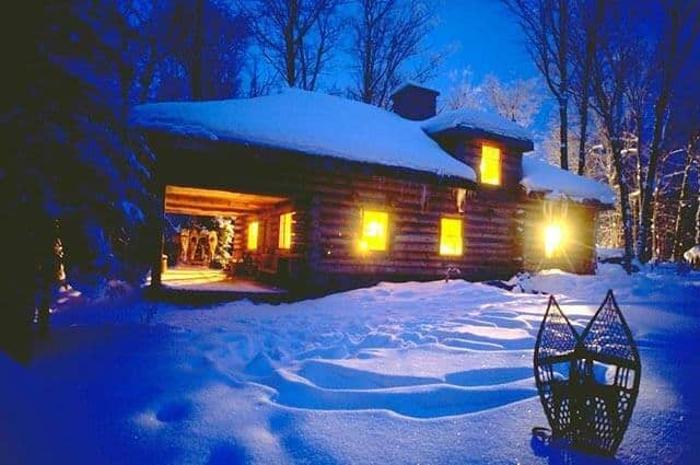 Voyageur Quest 187 Algonquin Log Cabin Winter Category Page