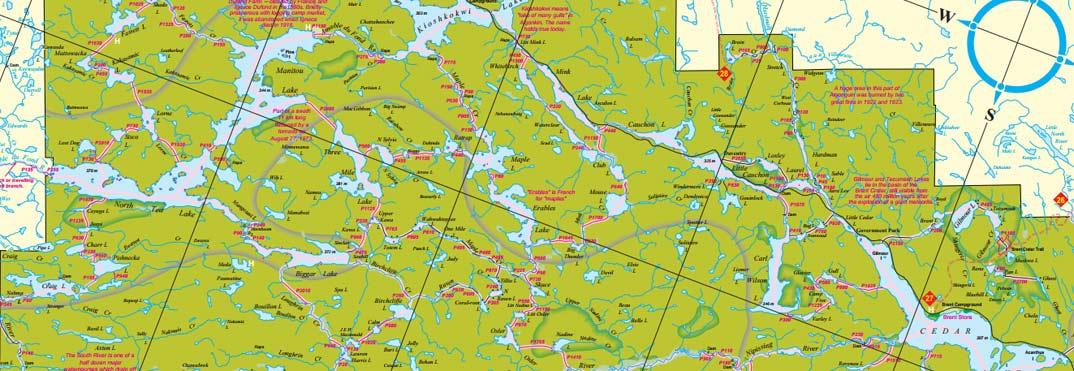 Algonquin Park Maps