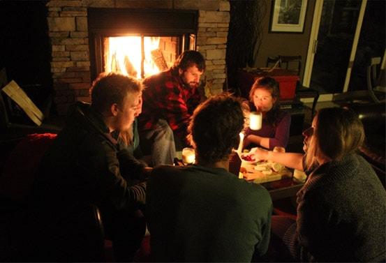 Algonquin winter chalet