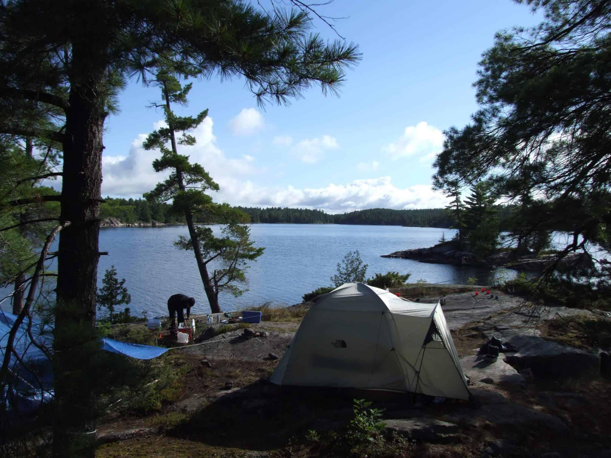 trip overview and navigation through algonquin park