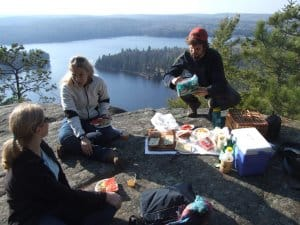 lookout lunch in Algonquin 1