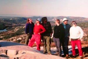 1998 log cabin team at killarney