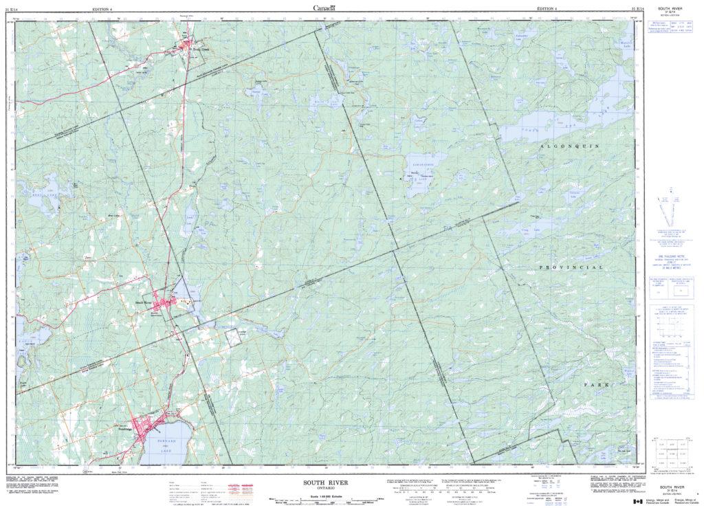 Voyageur Quest » Algonquin Park Maps