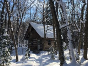 Log Cabin, Pinecroft, Winter Cabin, Algonquin Park Cabin