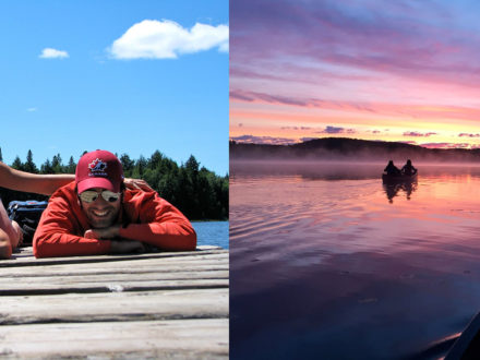 4 Day Algonquin Canoe or Lodge Adventure in connection with Porter Airlines