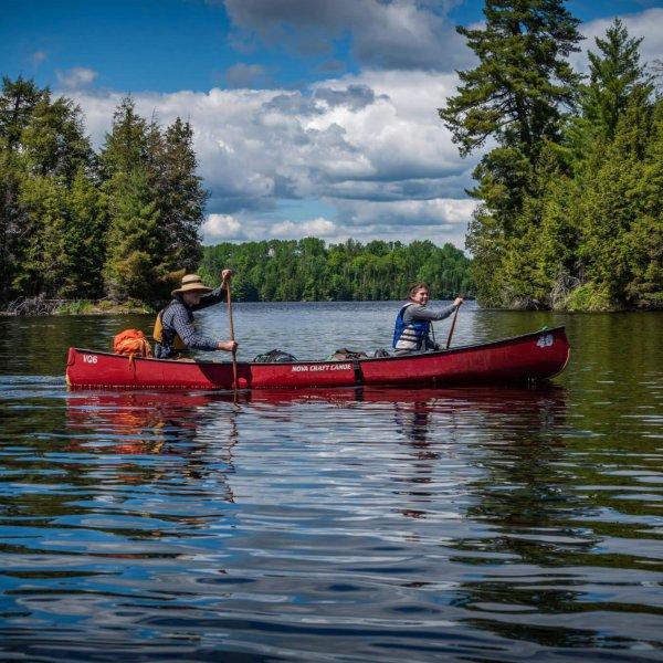 canoe trip family